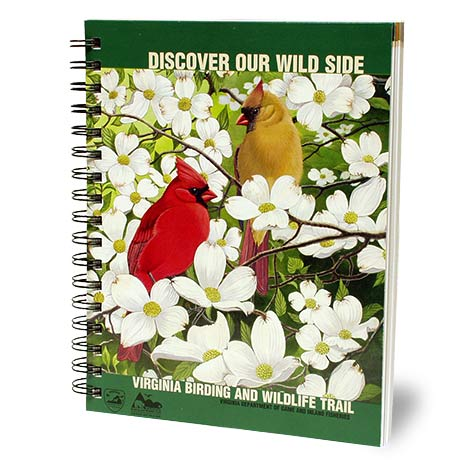 CLICK HERE to order your Virginia Birding and Wildlife Trail Guide!