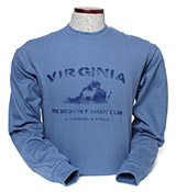 D55876 - Indigo Blue Long Sleeve T-Shirt - thumbnail