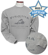 D55881 - Deep Heather Long Sleeve Thermal T-Shirt - thumbnail