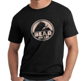 D136342 - Bear Aware T-Shirt, Black - thumbnail