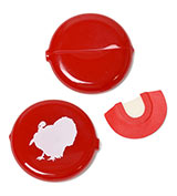 138498 - One Shot Diaphragm Turkey Call and Case - thumbnail