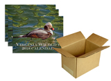 150912 - Virginia Wildlife 2018 Calendar, Box of 25 - thumbnail
