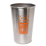 300780 - Stainless Steel Pint, Restore the Wild - thumbnail